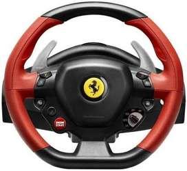 THRUSTMASTER Ferrari 458 Spider Racing Wheel for Xbox One NEW OPEN BOX