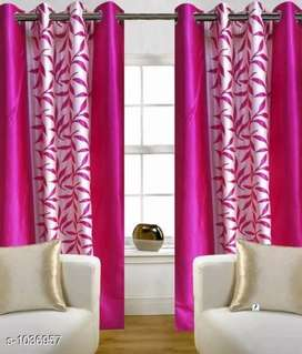 Polyester door curtains combo 2