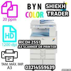 Perfect rental services of Photocopier + Printer + Scanner in Punjab