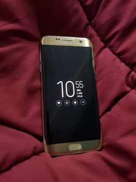 Samsung S7 edge gold colour dual sim