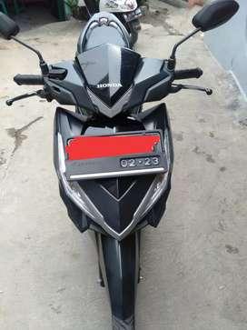 Dijual Vario 150 Monotone 2018 B Tangerang Motor gres siap pakai