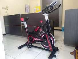 Dijual murah alat fitnes sepeda statis spinning bike