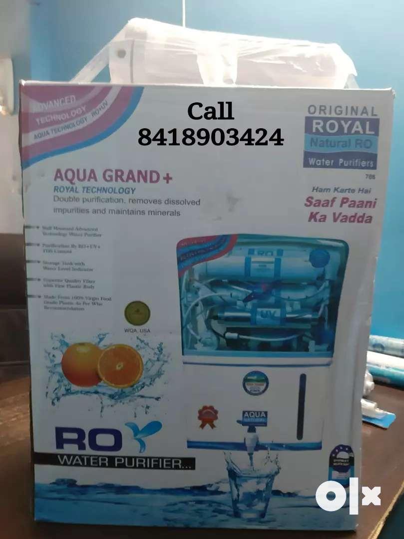 New Aqua grand plus ro+uv+uf+tds 12 liter water purifier 0