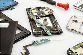Mobile phones, laptops, service professional