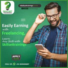 Easily Earning with Freelancing Learn any Skill with Skillsettrainin