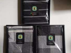 Sarung Gajah Duduk Premium Black and White