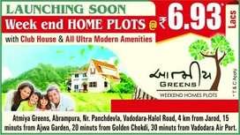 Lowest price Residential Plots for sale- Aatmiya Greens- Vadodara