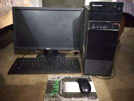 Desktop system (Lenovo s510) with dell Monitor
