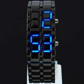 jam tangan led iron