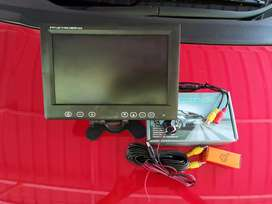 Car /auto taxi irish reverse camera with Tv monitor
