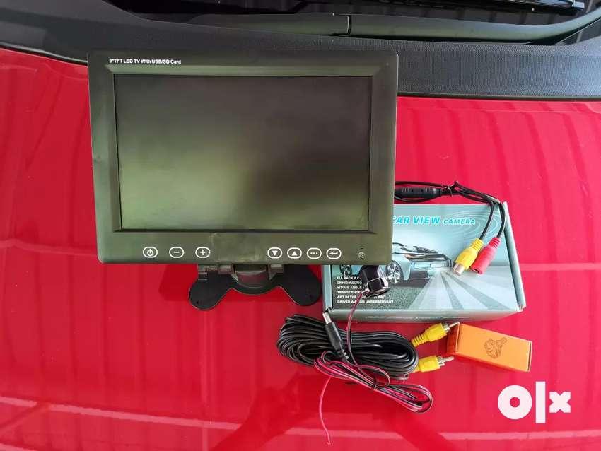 Car /auto taxi irish reverse camera with Tv monitor 0