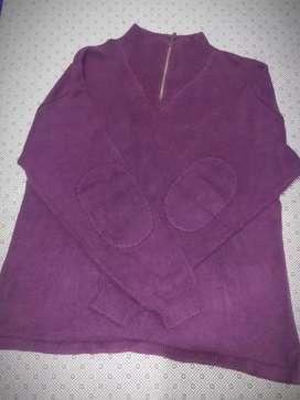 Sweater Rajut Warna Ungu, Oversized masih sangat bagus