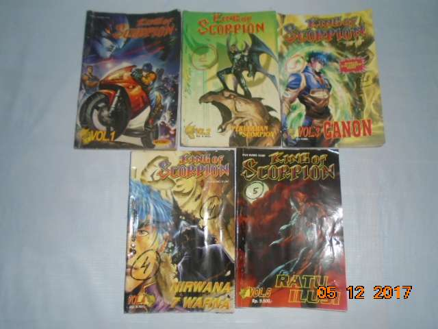 KING of SCORPION 1-5 komik superhero 0
