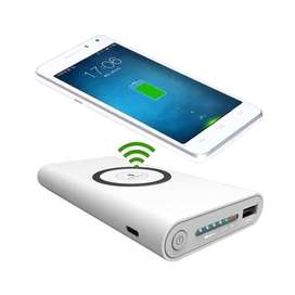 Wireless Powerbank Charger 10000mah Iphone X Samsung S7 S8 S9 NOTE8