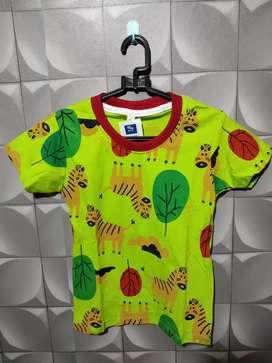 Kaos motif anak lucu