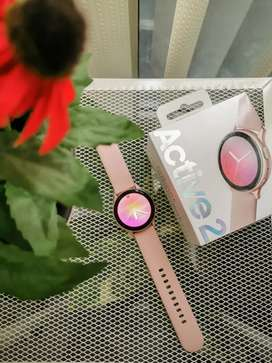SAMSUNG Galaxy Active 2 Rose Gold Smart Watch - FullSet like new
