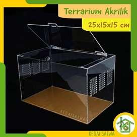 Aquarium Reptil Akrilik | Vivarium Acrylic | Terarium untuk Tarantula