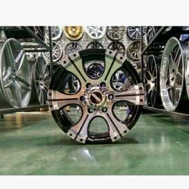 velg mobil racing fortuner pajero panther ring 16x8 pcd 6x139,7