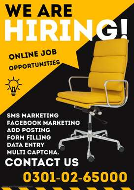 Males & females are hiring for real home base Multiple Data Entry jobs