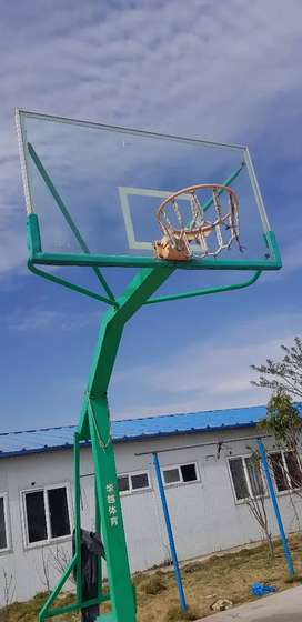 Basketball stand moveable little used
