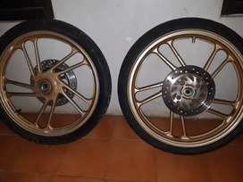 Velg Supra X 125 double Disc