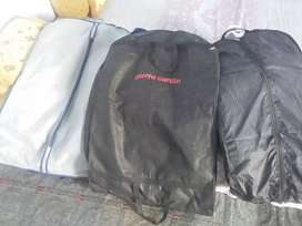 Three piece suits neatly used