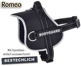 Romeo Dog Harness Reflective. Imported Made in Germany.