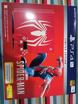 Ps4 pro limited edition Spiderman