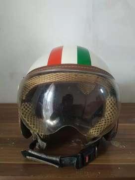 Helm Vespa Piaggio Monza Retro Bogo Italy Classic