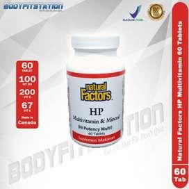 Natural Factors HP Multivitamin 60 Tablets / suplemen tablet vitamin