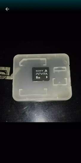 Memory Original Ps Vita 8gb
