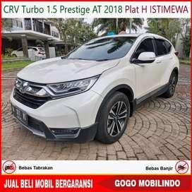 CRV Turbo 1.5 Prestige At 2018 Plat H ISTIMEWA Bisa Kredit