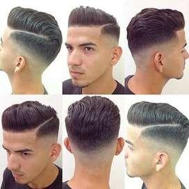 Hair cutting worker ki jarurt hai