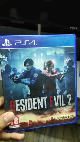 PS4 RESIDENT EVIL 2 FOR SALE OR EXCHANGE IN EXCELLENT CONDITION
