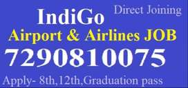airport/airlines job free joining recruitment 2020 job