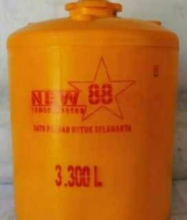 Gudang tandon air 1000 liter toren tebal HDPE bahan plastik