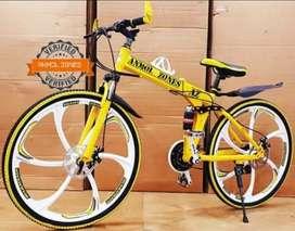 AZ - 21 GEARS - FOLDABLE - MAC WHEEL - NEW BICYCLE