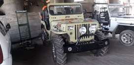 Military disposal jeep modify