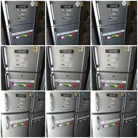 Double door fridges 260 liter 8500 RS, with warranty & Delivery