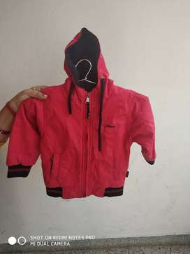 Kids Winter Jacket with Cap(Reversible)for 2-3 Years old Kids