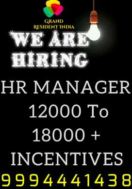 WANTED HR MANAGER
