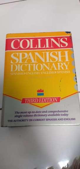 Kamus bahasa spanyol Collins