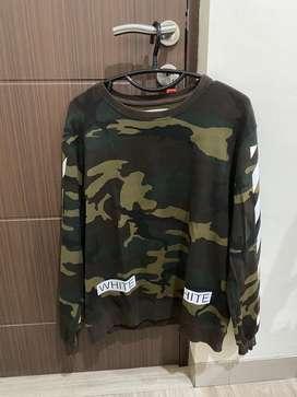 [ORIGINAL] Off-White Virgil Abloh Camo Sweater - Size L
