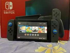 Nintendo Switch V2 + 2 Kaset game