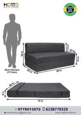 Factory delivery at home sofa cum bed