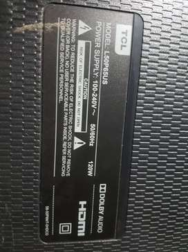 """55"""" tcl for sale screen demage other over all original"""