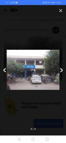 Cantt board plaza shop for sale