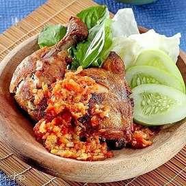 Ayam bakar geprek bakul mimi