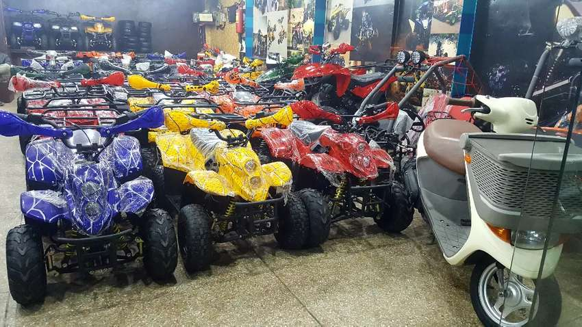 VERITY OF ATV QUAD BIKE 48cc to 249cc available in present stock 4sell 0