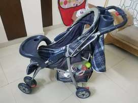 Pram available for small ages